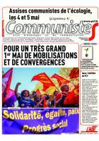 Journal CommunisteS n°722