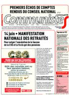 Journal CommunisteS n°728